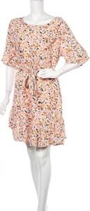 Sukienka Grace&co mini w stylu casual z długim rękawem