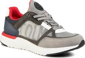 Buty sportowe Colmar ze skóry ekologicznej sznurowane