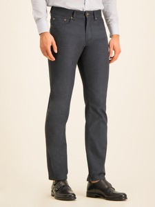 Granatowe jeansy Digel