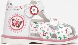 Buty dziecięce letnie Multu na rzepy