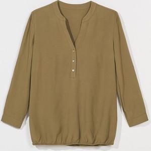 Zielona bluzka Mohito w stylu casual