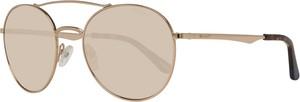 Złote okulary damskie Gant