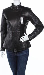 Czarna kurtka Ochnik krótka w stylu casual