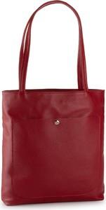 Czerwona torebka Creole duża na ramię