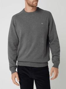 Sweter Fynch Hatton z okrągłym dekoltem z bawełny