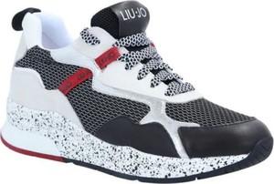 Sneakersy Liu-Jo na platformie sznurowane