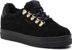 Sneakersy Gant na koturnie