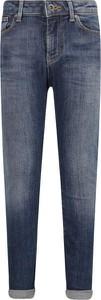 Jeansy dziecięce Emporio Armani z jeansu