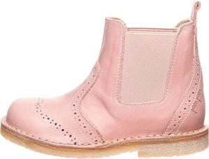 Buty dziecięce zimowe Pom Pom ze skóry