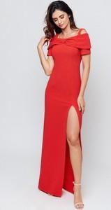 Sukienka Marselini z tkaniny maxi