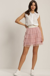 Różowa spódnica Renee mini