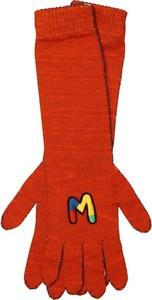 Czerwone rękawiczki M Missoni