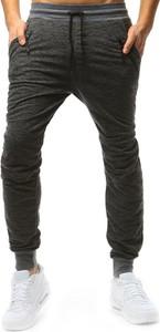 Czarne spodnie sportowe Dstreet z bawełny w sportowym stylu