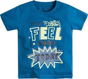Niebieska koszulka dziecięca Cool Club