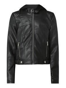 Czarna kurtka Vero Moda krótka z dresówki
