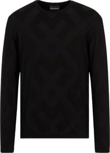 Czarna bluza Emporio Armani w stylu casual