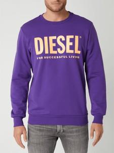 Fioletowa bluza Diesel w młodzieżowym stylu