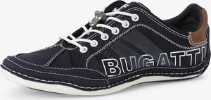Bugatti - Tenisówki męskie, niebieski