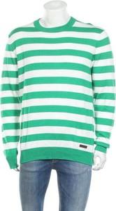 Sweter Pepe Jeans w młodzieżowym stylu z okrągłym dekoltem