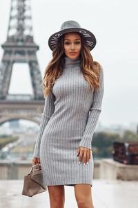 Sukienka Ivet.pl w stylu casual dopasowana