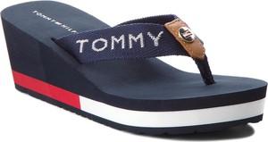 Sandały Tommy Hilfiger ze skóry w stylu casual