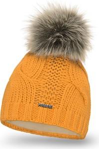 Pomarańczowa czapka PaMaMi