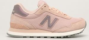 Turkusowe buty sportowe New Balance ze skóry z płaską podeszwą