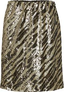 Złota spódnica Saint Tropez