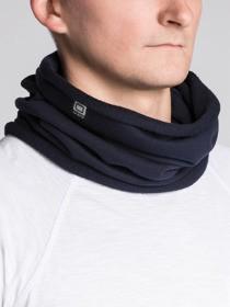 Czarny szal męski ombre clothing