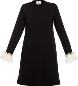 Sukienka Yuliya Babich mini z okrągłym dekoltem