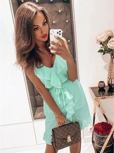 Sukienka magmac.pl z szyfonu w stylu casual