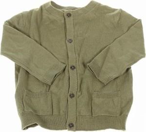 Zielony sweter Name it dla dziewczynek