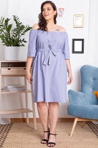 Sukienka KARKO hiszpanka w stylu casual z długim rękawem