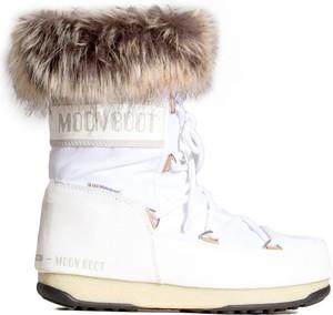 Śniegowce Moon Boot z płaską podeszwą
