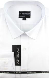 Koszula Forenzo z długim rękawem z klasycznym kołnierzykiem z tkaniny