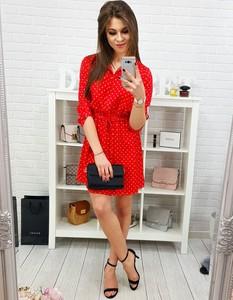 33d71c2123 czerwona sukienka sprzedam. - stylowo i modnie z Allani
