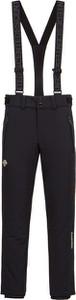 Czarne spodnie sportowe Descente w sportowym stylu