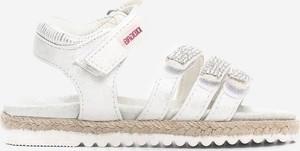 Buty dziecięce letnie Multu ze skóry