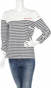 Bluzka Bondelid z długim rękawem z okrągłym dekoltem