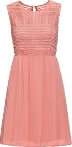 Sukienka bonprix BODYFLIRT mini bez rękawów