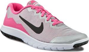 Buty sportowe Nike sznurowane flex z płaską podeszwą