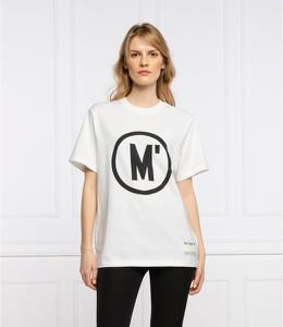 Bluzka Marc O'Polo z okrągłym dekoltem w młodzieżowym stylu