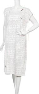 Sukienka Alife And Kickin z okrągłym dekoltem w stylu casual z krótkim rękawem