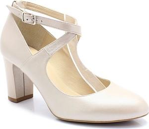 c68fe3681e098 czółenka ślubne białe - stylowo i modnie z Allani