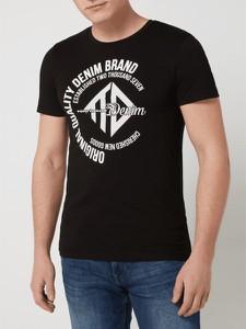 T-shirt Tom Tailor Denim z nadrukiem z bawełny