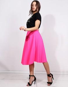Różowa spódnica Dstreet midi