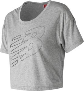 Bluzka New Balance z jedwabiu