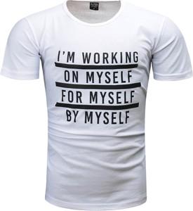 T-shirt Recea z krótkim rękawem