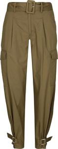 Spodnie Tommy Jeans w militarnym stylu