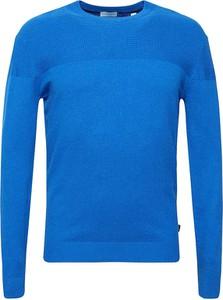 Niebieski sweter Esprit z kaszmiru